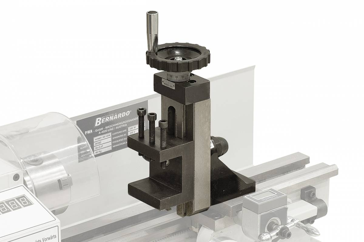 BERNARDO Drehmaschine Vertikalfrässupport für Hobby 300 / 350