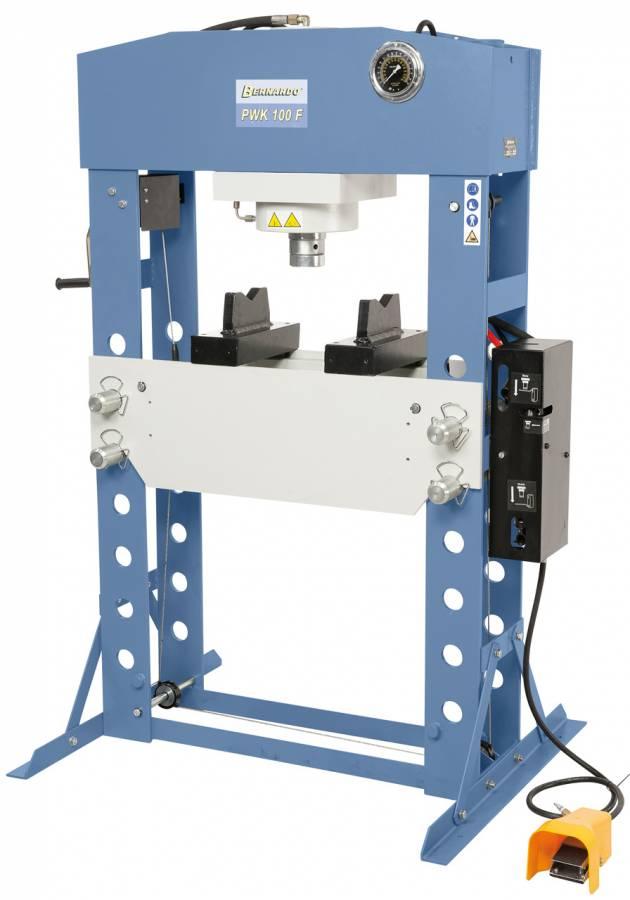BERNARDO Pneumatische Werkstattpressen PWK 100 F