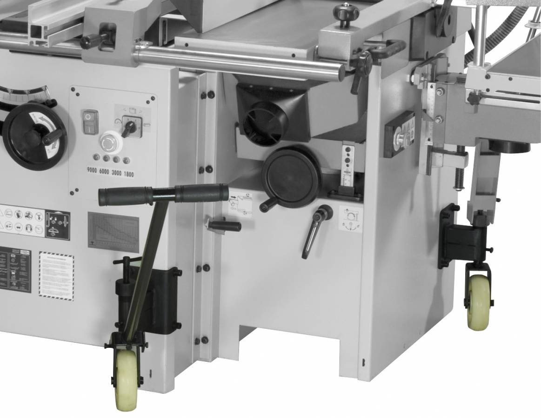BERNARDO Universal- Kombimaschine Fahreinrichtung für CU 310 F