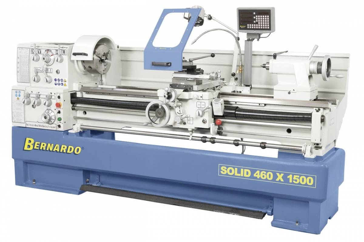 BERNARDO Universaldrehmaschine mit Digitalanzeige Solid 460 x 1500