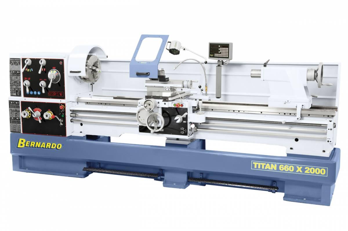 BERNARDO Universaldrehmaschine mit Digitalanzeige Titan 660 x 3000