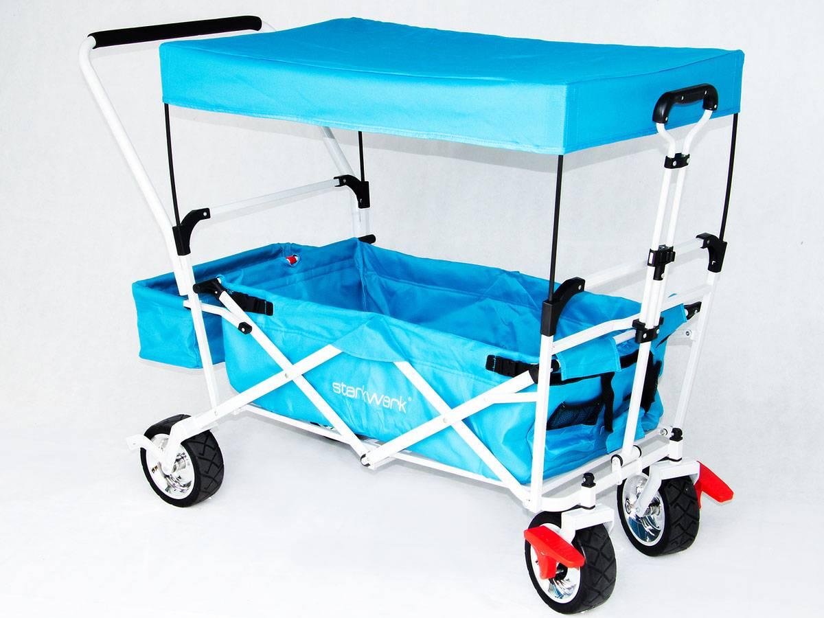 Starkwerk Faltbarer Bollerwagen Handwagen Transportkarre
